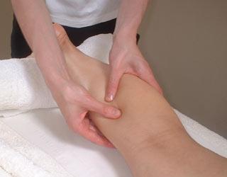 masaje para el dolor de piernas