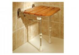 Asiento-de-ducha-abatible-de-madera