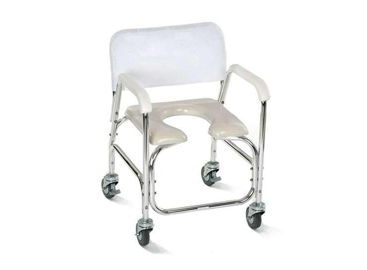 Silla econ mica para ducha y w c asiento u ortopedia online - Silla de bano para discapacitados ...