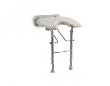 Asiento-de-ducha-abatible-forma-de-herradura-con-patas