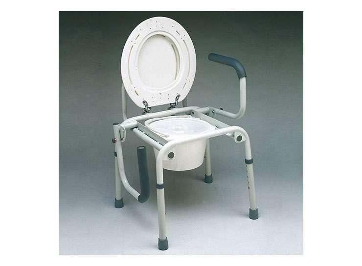 Silla de servicio wc ortopedia online for Sillas wc para enfermos